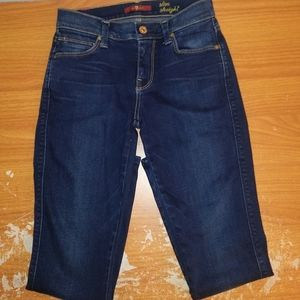 NWOT 7 for all Mankind Slim Straight Jeans Size 24